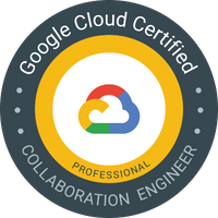 Google Cloud Certified Professional Collaboration Engineer